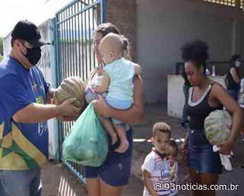Itabaiana: Alimentos orgânicos são distribuídos para famílias em situação de insegurança alimentar - 93Notícias