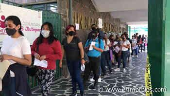 Imponen orden en vacunación de Jiutepec y fluye rápidamente - 24 Morelos