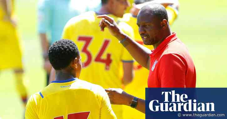 Crystal Palace take gamble on Patrick Vieira's youth revolution | Ed Aarons
