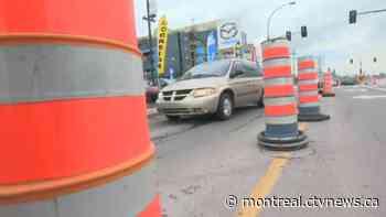 Weekend traffic: Work planned at the Saint-Pierre Interchange and Mercier Bridge - CTV News Montreal