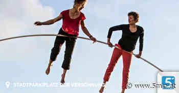 """""""La Strada"""": Akrobaten turnen auf beeindruckender Stahlkonstruktion - 5 Minuten"""