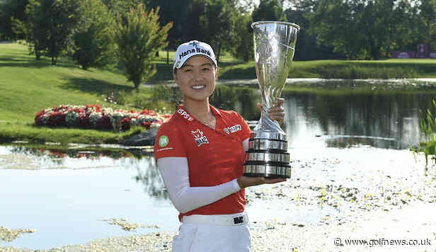 Minjee Lee comes from seven behind to win Evian Championship