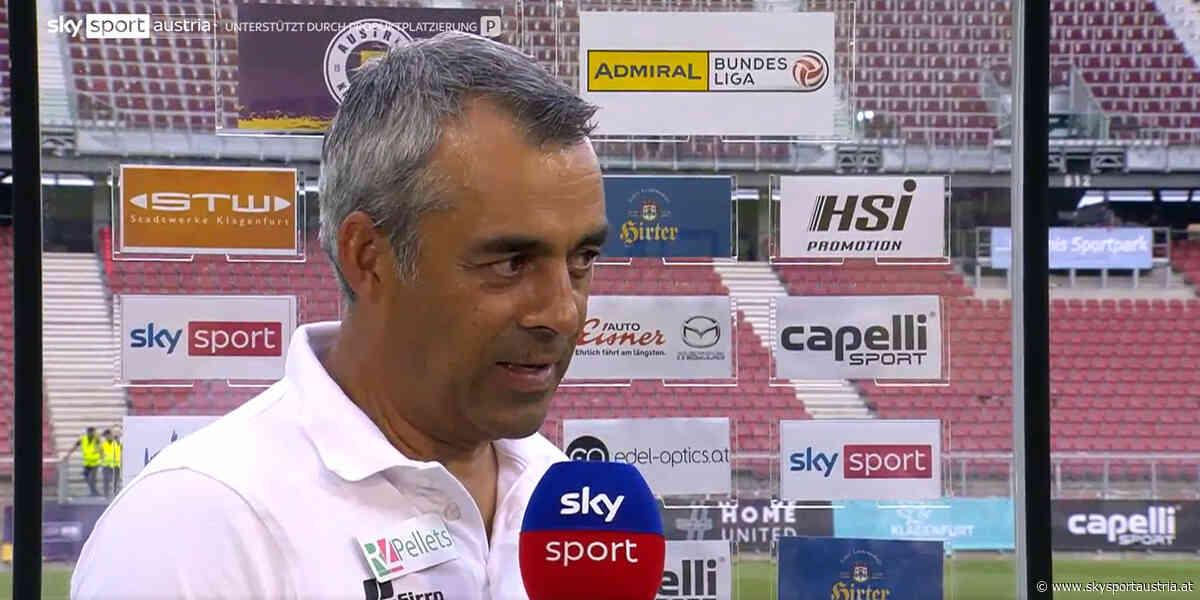 """Neo-WAC-Trainer Dutt: """"Fühlt sich wie eine Niederlage an"""" - Sky Sport Austria"""