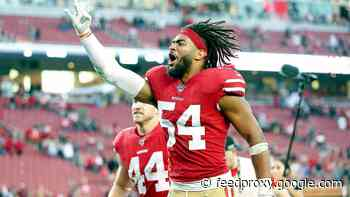 49ers' Fred Warner ranks No. 3 among NFL.com's best off-ball linebackers