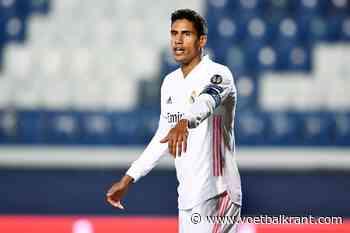 Transfer voor Raphaël Varane komt dichter: intensieve gesprekken aan de gang tussen Manchester United en Real Madrid