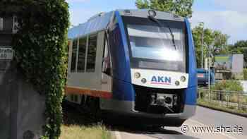 Bauarbeiten auf Linie A1: AKN: Strecke zwischen Kaltenkirchen und Kaltenkirchen Süd dicht   shz.de - shz.de