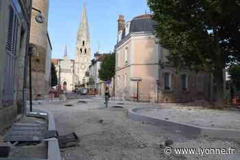 Les travaux de la place Saint-Germain se poursuivent à Auxerre - L'Yonne Républicaine