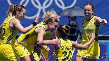 Live: Hockeyroos in action while Aussies swim for gold on day 3 in Tokyo