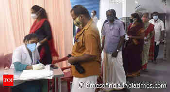 Coronavirus live updates: 3.3cr unused vaccine doses available with states and hospital, says Centre - Times of India