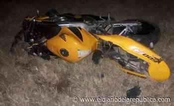 Falleció el motociclista accidentado en la Ruta N° 8 en Villa Mercedes - El Diario de la República