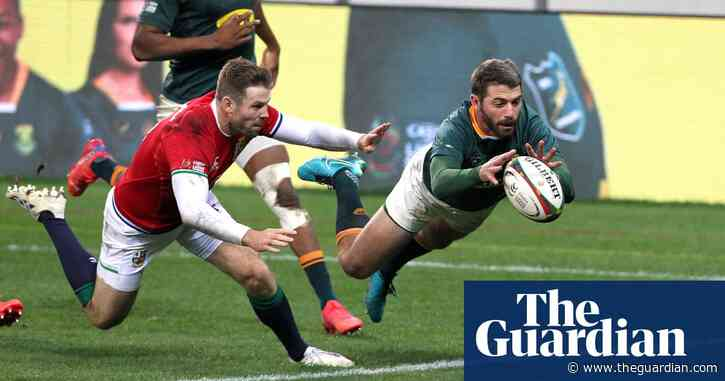 Lions' TMO outrage succeeds with South Africa losing marginal calls