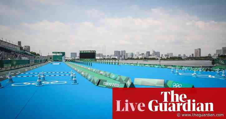 Olympics 2020 day three: Jonny Brownlee and Alex Yee go in men's triathlon – live!