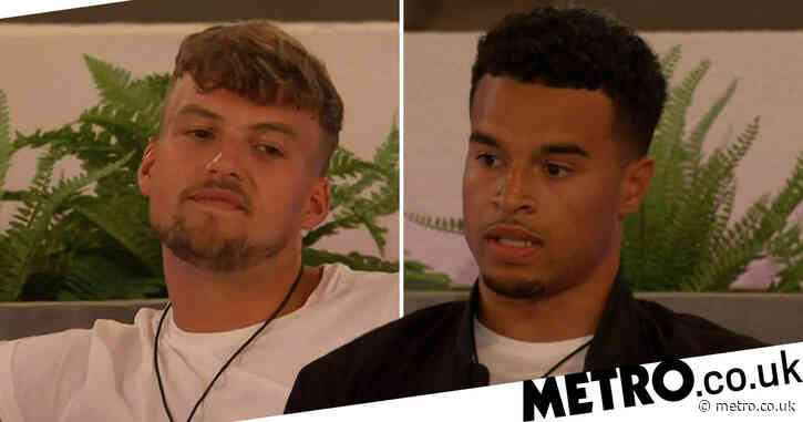 Hugo Hammond 'not sorry' for Toby Aromolaran clash as guys finally go for a chat about Chloe Burrows