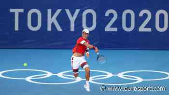Tokyo 2020 - Home favourite Kei Nishikori knocks out 5th seed Andrey Rublev in first round - Eurosport.com