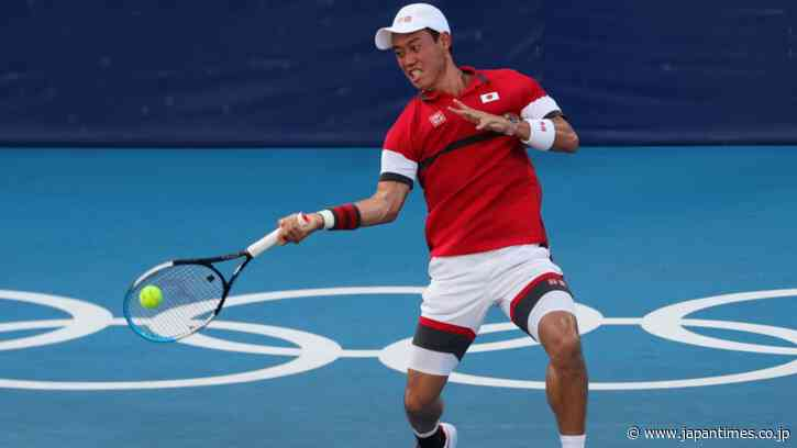 Kei Nishikori opens Games with a win and says he aims to 'bring better news' - The Japan Times
