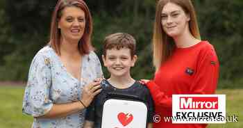 Generous teen, 19, donates defibrillator to boy, 11, who could die at any moment