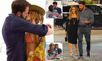 Old flames Jennifer Lopez and Ben Affleck rekindle their love very publicly, writes ALISON BOSHOFF