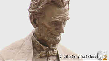 New Bronze Statue Of President Abraham Lincoln Dedicated In Wilkinsburg - CBS Pittsburgh