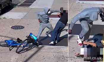 Robber pummels 68-year-old man and STOMPS on his skull before robbing him