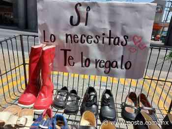 'Si lo necesitas, ¡te lo regalo!': zapatos gratis en Monterrey - POSTA