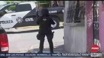 Balacera deja un muerto en Monterrey, Nuevo León - Noticieros Televisa