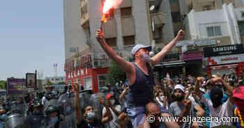 Tunisians protest as COVID surges, economy suffers | Coronavirus pandemic News - Al Jazeera English