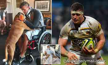 ED JACKSON describes the miracle moment he realised he might walk again