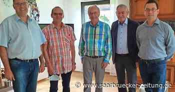 Alt-Bürgermeister Heinz Müller in Bexbach wurde 75 - Saarbrücker Zeitung