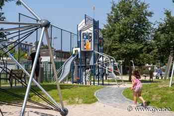 Speeltuin Ruimtevaartlaan klaar (voor lancering) (Deurne) - Gazet van Antwerpen Mobile - Gazet van Antwerpen
