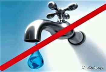 Arequipa: corte del servicio de agua potable en dos distritos, este lunes 26 - El Búho.pe