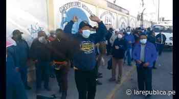 Arequipa: protestas y avance lento registra obra del Bicentenario de municipio provincial - La República Perú