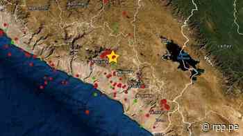 Un sismo de magnitud 3.4 remeció la región Arequipa esta madrugada - RPP Noticias