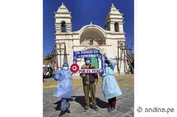 ¿Vives en Arequipa y tienes 50 años a más? Este fin de semana habrá vacunatón - Agencia Andina