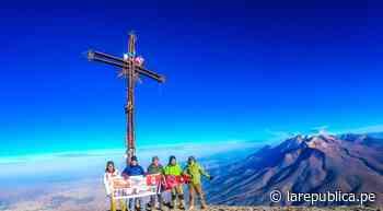 Arequipa: grupo de andinistas flamearán la bandera del Perú en el Misti - La República Perú
