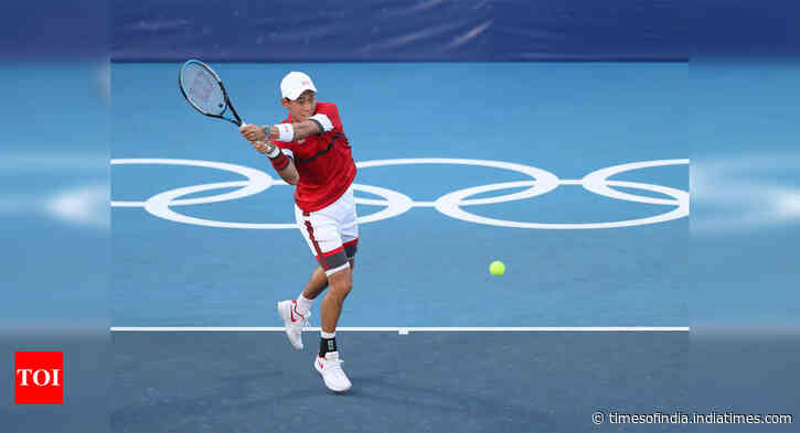 Tokyo Olympics: Kei Nishikori upsets fifth seed Andrey Rublev on home soil - Times of India