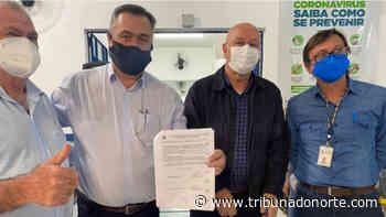 Beto Preto autoriza construção de ambulatório médico em Jacarezinho - Tribuna do Norte