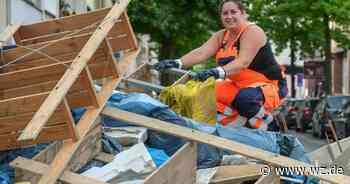 Nach Flutkatastrophe: AWG sammelt 1000 Tonnen Müll in Wuppertal ein - Westdeutsche Zeitung