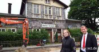 Bahnhof Varresbeck in Wuppertal: Das könnte dort entstehen - Westdeutsche Zeitung