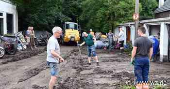 Wuppertal: Hochwasser-Betroffene können Soforthilfe beantragen - Westdeutsche Zeitung