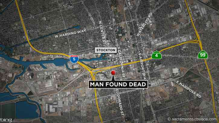 Homicide Detectives Investigate After Man Found Dead At Stockton Intersection