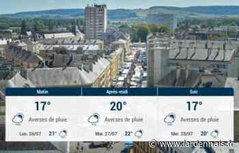 Sedan et ses environs : météo du dimanche 25 juillet - L'Ardennais