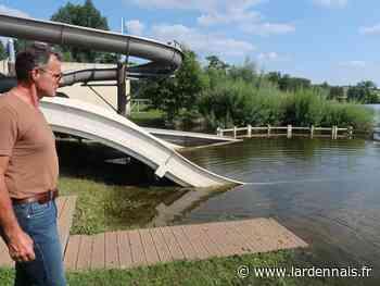 PHOTOS/VIDÉO. Les inondations plombent le camping de Douzy mais épargnent Sedan - L'Ardennais