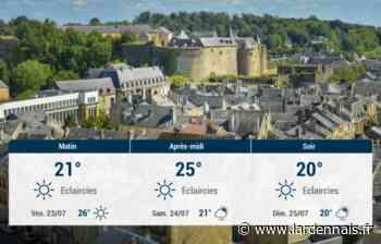Sedan et ses environs : météo du jeudi 22 juillet - L'Ardennais