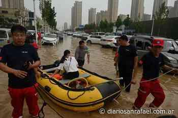 Inundaciones en China: ascienden a 51 los muertos - Diario San Rafael
