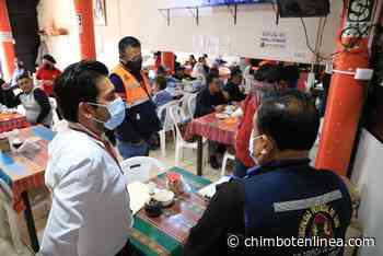 Chimbote: verifican que restaurantes, cevicherías y locales cumplan protocolos de bioseguridad por fiestas patrias - Diario Digital Chimbote en Línea