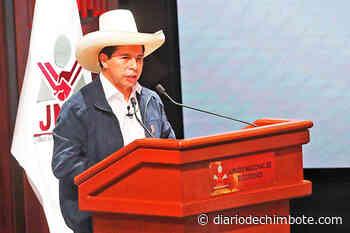 PEDRO CASTILLO RECIBIÓ SUS CREDENCIALES COMO PRESIDENTE - Diario de Chimbote