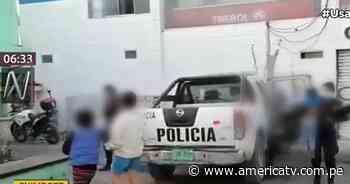 Nuevo Chimbote: Vecinos graban a madre maltratando a sus menores hijos - América Televisión