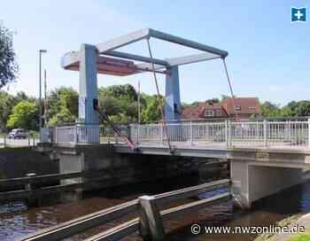 Umwege und längere Fahrtzeiten: Klappbrücke in Sande ab Montag gesperrt - Nordwest-Zeitung