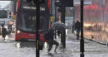 Hospital 'critical incident' declared as torrential storms batter London