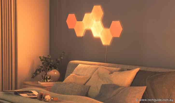 Nanoleaf Elements wood finish panels offer a new look for smart lighting